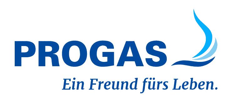 Progas Logo blau
