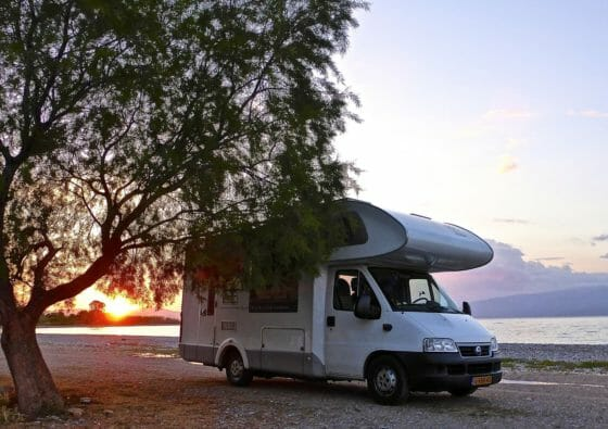 Gaskühlschrank im Campervan