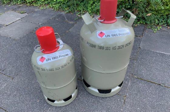 Gasflaschen Füllstand Messen