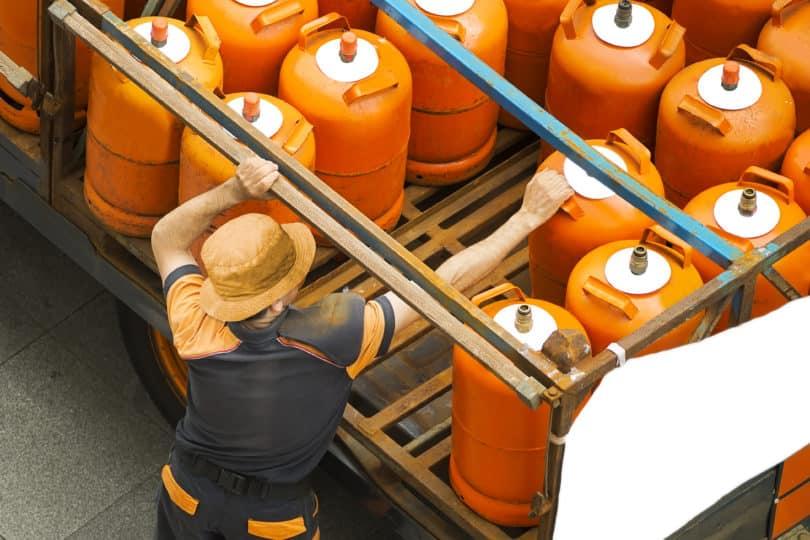 Propangas Gasflaschen liefern