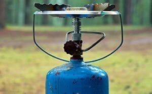 Campingaz Flasche im Outdoor-Einsatz