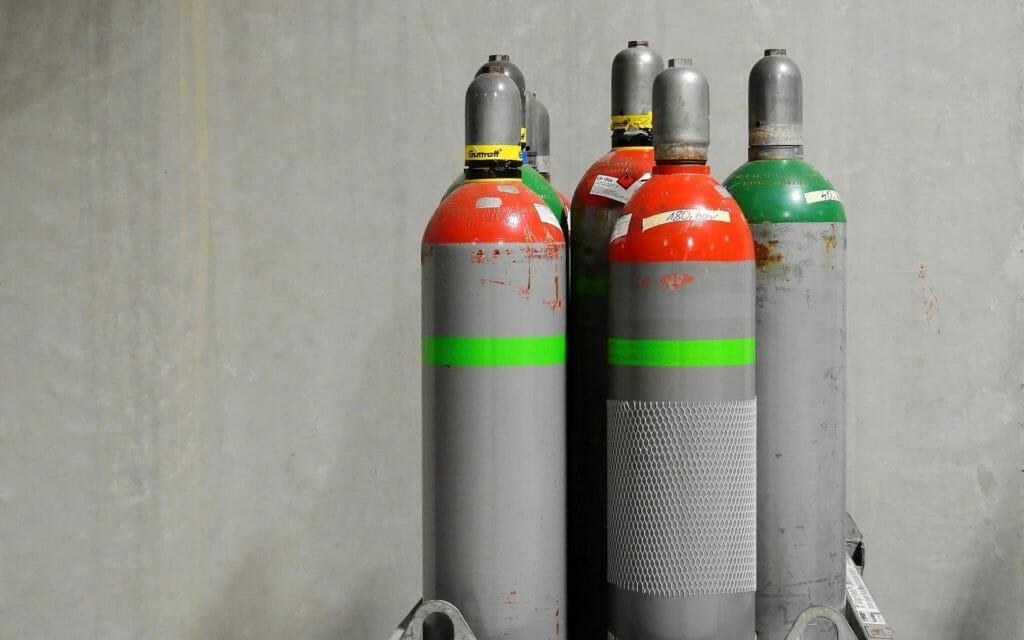 Gasflaschen in der Nähe kaufen, befüllen oder tauschen